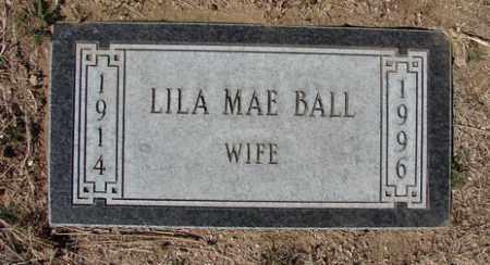 BALL, LILA MAE - Yavapai County, Arizona | LILA MAE BALL - Arizona Gravestone Photos