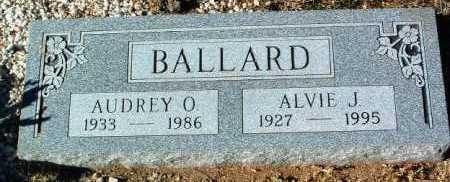 BALLARD, ALVIE J. - Yavapai County, Arizona | ALVIE J. BALLARD - Arizona Gravestone Photos