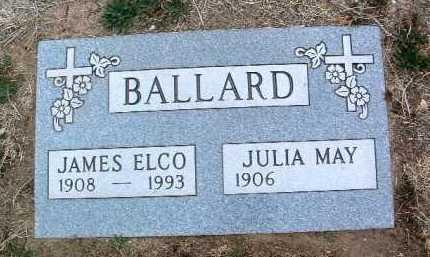 BALLARD, JAMES ELCO - Yavapai County, Arizona | JAMES ELCO BALLARD - Arizona Gravestone Photos