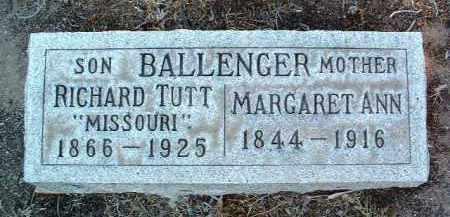 THOMAS BALLENGER, M. - Yavapai County, Arizona   M. THOMAS BALLENGER - Arizona Gravestone Photos