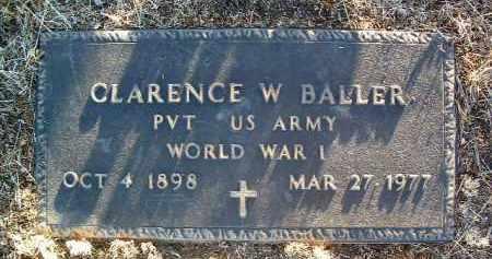 BALLER, CLARENCE WILLIAM - Yavapai County, Arizona   CLARENCE WILLIAM BALLER - Arizona Gravestone Photos