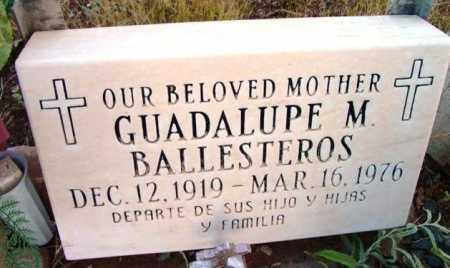 BALLESTEROS, GUADELUPE - Yavapai County, Arizona | GUADELUPE BALLESTEROS - Arizona Gravestone Photos