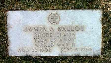 BALLOU, JAMES A. - Yavapai County, Arizona | JAMES A. BALLOU - Arizona Gravestone Photos