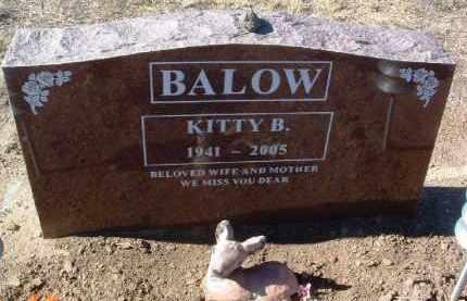 STEELE BALOW, MARTHA B. - Yavapai County, Arizona | MARTHA B. STEELE BALOW - Arizona Gravestone Photos