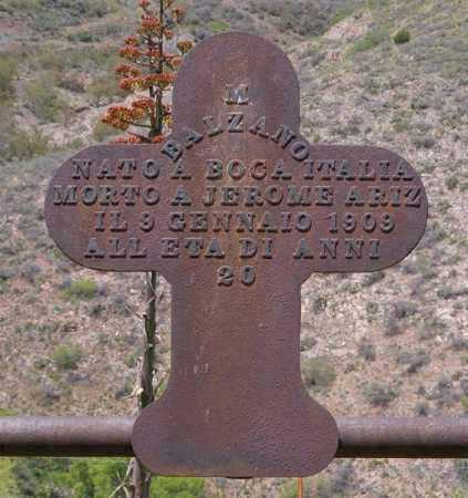 BALZANO, MAURICE - Yavapai County, Arizona | MAURICE BALZANO - Arizona Gravestone Photos