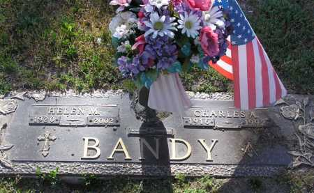 BANDY, CHARLES A. - Yavapai County, Arizona | CHARLES A. BANDY - Arizona Gravestone Photos