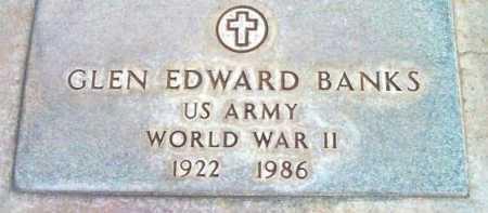 BANKS, GLEN EDWARD - Yavapai County, Arizona | GLEN EDWARD BANKS - Arizona Gravestone Photos