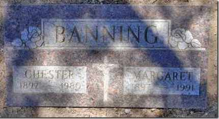 BANNING, MARGARET ROWENA - Yavapai County, Arizona | MARGARET ROWENA BANNING - Arizona Gravestone Photos