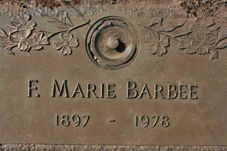 BARBEE, FLOSSIE MARIE - Yavapai County, Arizona | FLOSSIE MARIE BARBEE - Arizona Gravestone Photos