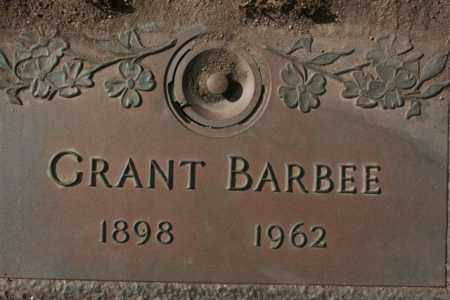 BARBEE, GRANT - Yavapai County, Arizona | GRANT BARBEE - Arizona Gravestone Photos