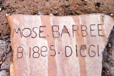 BARBEE, MOSES H. - Yavapai County, Arizona | MOSES H. BARBEE - Arizona Gravestone Photos