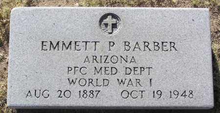 BARBER, EMMETT P. - Yavapai County, Arizona | EMMETT P. BARBER - Arizona Gravestone Photos