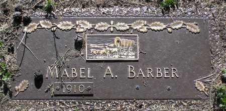 BARBER, MABEL ANNETTE - Yavapai County, Arizona   MABEL ANNETTE BARBER - Arizona Gravestone Photos