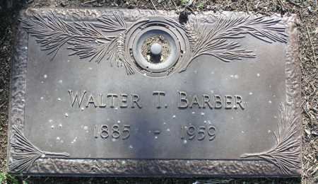 BARBER, WALTER THOMAS - Yavapai County, Arizona | WALTER THOMAS BARBER - Arizona Gravestone Photos