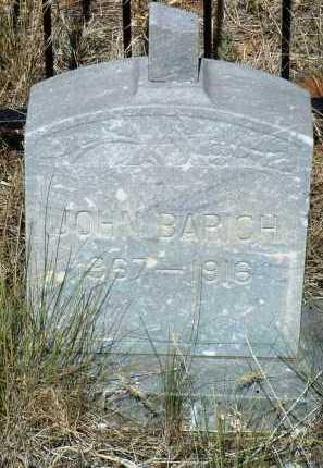 BARICH, JOHN - Yavapai County, Arizona   JOHN BARICH - Arizona Gravestone Photos
