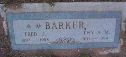 BARKER, TWYLA M. - Yavapai County, Arizona | TWYLA M. BARKER - Arizona Gravestone Photos