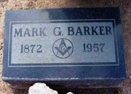 BARKER, MARK GEORGE - Yavapai County, Arizona | MARK GEORGE BARKER - Arizona Gravestone Photos