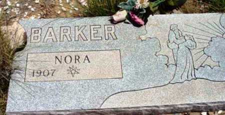 BARKER, NORA - Yavapai County, Arizona | NORA BARKER - Arizona Gravestone Photos