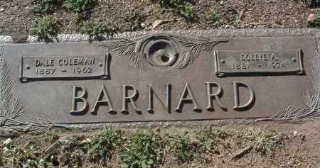 GORDON BARNARD, DOLLYE - Yavapai County, Arizona | DOLLYE GORDON BARNARD - Arizona Gravestone Photos