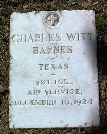 BARNES, CHARLES WITT - Yavapai County, Arizona | CHARLES WITT BARNES - Arizona Gravestone Photos
