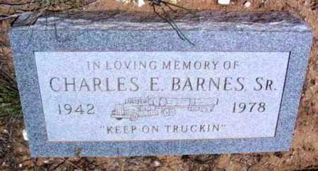 BARNES, CHARLES E., SR. - Yavapai County, Arizona | CHARLES E., SR. BARNES - Arizona Gravestone Photos