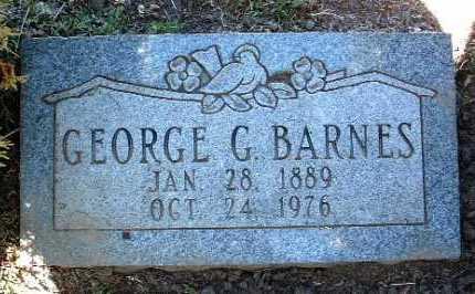BARNES, GEORGE GERALD - Yavapai County, Arizona | GEORGE GERALD BARNES - Arizona Gravestone Photos