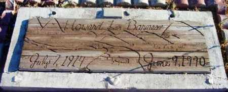 BARNES, HOWARD L. - Yavapai County, Arizona | HOWARD L. BARNES - Arizona Gravestone Photos