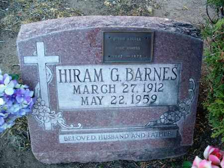 BARNES, HIRAM GERALD, SR. - Yavapai County, Arizona | HIRAM GERALD, SR. BARNES - Arizona Gravestone Photos