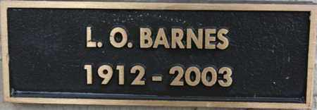 BARNES, LEON O. - Yavapai County, Arizona | LEON O. BARNES - Arizona Gravestone Photos