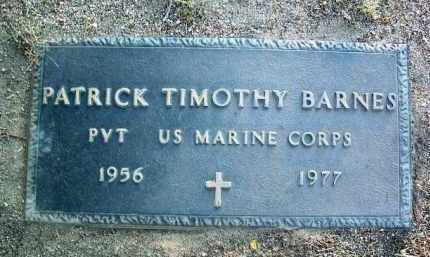 BARNES, PATRICK TIMOTHY - Yavapai County, Arizona | PATRICK TIMOTHY BARNES - Arizona Gravestone Photos