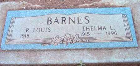 BARNES, THELMA L. - Yavapai County, Arizona   THELMA L. BARNES - Arizona Gravestone Photos