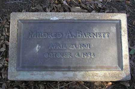 BARNETT, MILDRED A. - Yavapai County, Arizona   MILDRED A. BARNETT - Arizona Gravestone Photos
