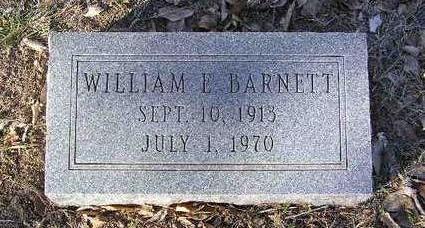 BARNETT, WILLIAM EDWARD - Yavapai County, Arizona   WILLIAM EDWARD BARNETT - Arizona Gravestone Photos