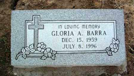 BARRA, GLORIA ANN - Yavapai County, Arizona | GLORIA ANN BARRA - Arizona Gravestone Photos