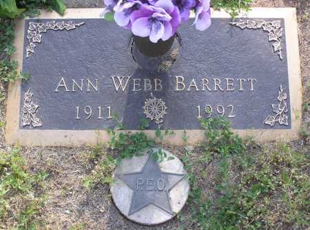BARRETT, ANN - Yavapai County, Arizona | ANN BARRETT - Arizona Gravestone Photos