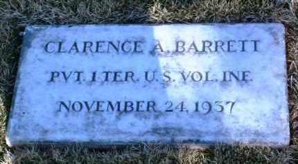 BARRETT, CLARENCE AMON - Yavapai County, Arizona | CLARENCE AMON BARRETT - Arizona Gravestone Photos