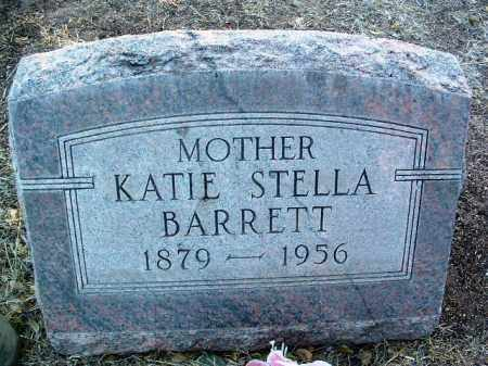 BARRETT, KATHERINE STELLA (KATIE) - Yavapai County, Arizona   KATHERINE STELLA (KATIE) BARRETT - Arizona Gravestone Photos