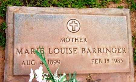 BARRINGER, MARIE LOUISE - Yavapai County, Arizona | MARIE LOUISE BARRINGER - Arizona Gravestone Photos