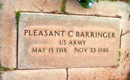 BARRINGER, PLEASANT CLIFTON - Yavapai County, Arizona | PLEASANT CLIFTON BARRINGER - Arizona Gravestone Photos
