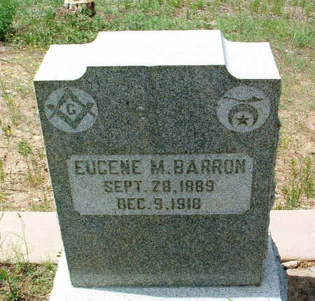BARRON, EUGENE MAXSON - Yavapai County, Arizona | EUGENE MAXSON BARRON - Arizona Gravestone Photos