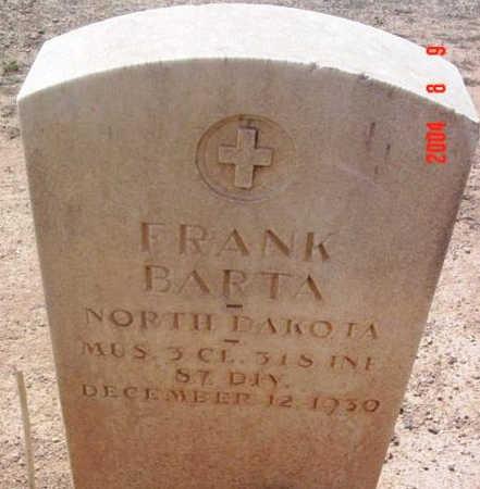 BARTA, FRANK - Yavapai County, Arizona | FRANK BARTA - Arizona Gravestone Photos