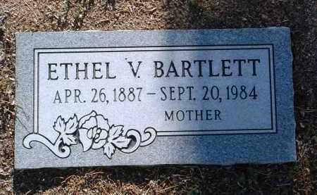 HILL BARTLETT, ETHEL VIOLA - Yavapai County, Arizona | ETHEL VIOLA HILL BARTLETT - Arizona Gravestone Photos
