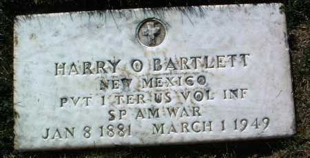 BARTLETT, HARRY O. - Yavapai County, Arizona | HARRY O. BARTLETT - Arizona Gravestone Photos