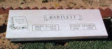 BARTLETT, LOUIS GEORGE - Yavapai County, Arizona   LOUIS GEORGE BARTLETT - Arizona Gravestone Photos