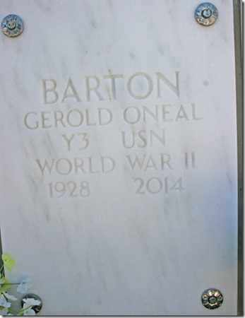 BARTON, GEROLD ONEAL - Yavapai County, Arizona   GEROLD ONEAL BARTON - Arizona Gravestone Photos