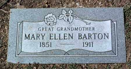 BARTON, MARY ELLEN - Yavapai County, Arizona | MARY ELLEN BARTON - Arizona Gravestone Photos