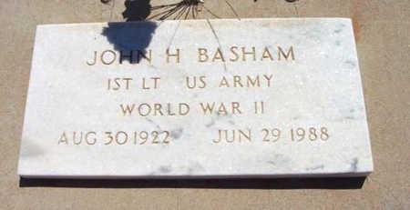 BASHAM, JOHN HENRY - Yavapai County, Arizona | JOHN HENRY BASHAM - Arizona Gravestone Photos