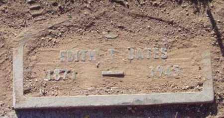 BATES, EDITH T. - Yavapai County, Arizona | EDITH T. BATES - Arizona Gravestone Photos