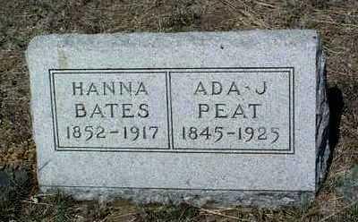HINES BATES, HANNA M. - Yavapai County, Arizona | HANNA M. HINES BATES - Arizona Gravestone Photos