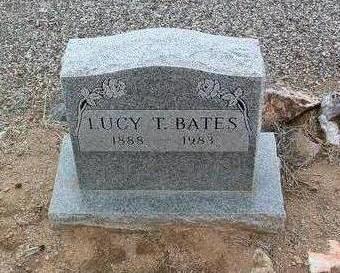 TURLEY BATES, LUCY - Yavapai County, Arizona | LUCY TURLEY BATES - Arizona Gravestone Photos